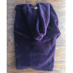 PINK Jackets & Coats - Purple Plush PINK Hoodie